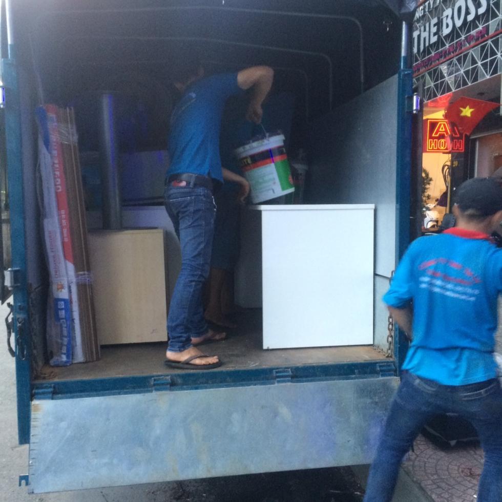 Hệ thống xe tải Dịch vụ chuyển nhà quận 5 giá rẻ tại TPHCM công ty Thành Tâm