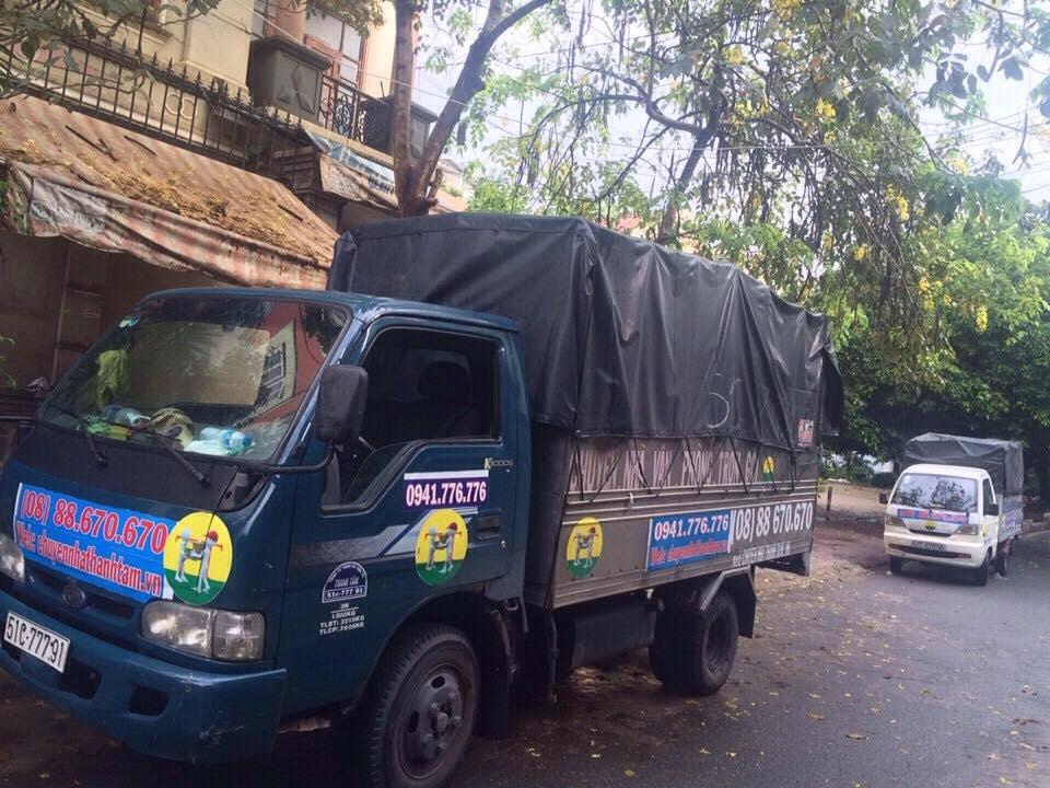 Dịch vụ cho thuê  xe tải nhỏ chở hàng - chuyển nhà tại Thành Tâm Express