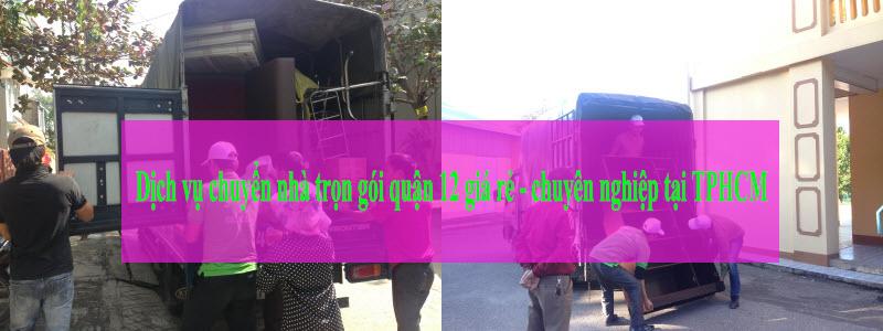 Dịch vụ chuyển nhà trọn gói quận 12 Thành Tâm Express