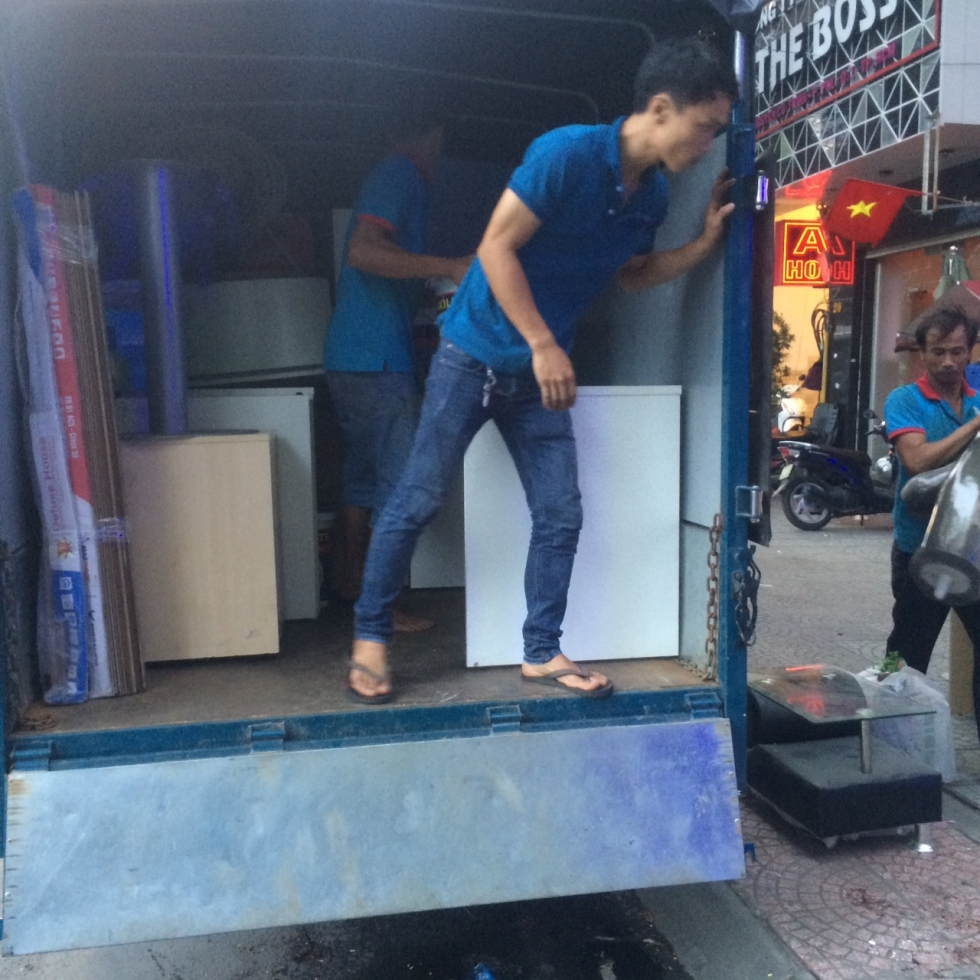 Xe tải cung cấp dịch vụ chuyển nhà quận 6 TPHCM