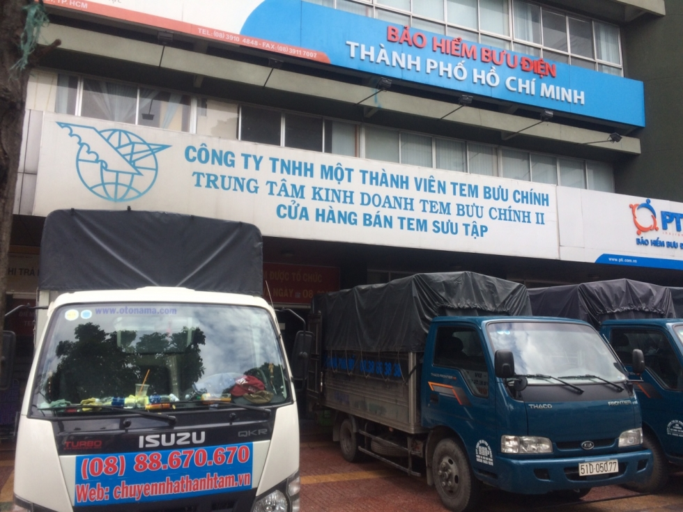 Dịch vụ chuyển văn phòng trọn gói giá rẻ tại Thành Tâm Express