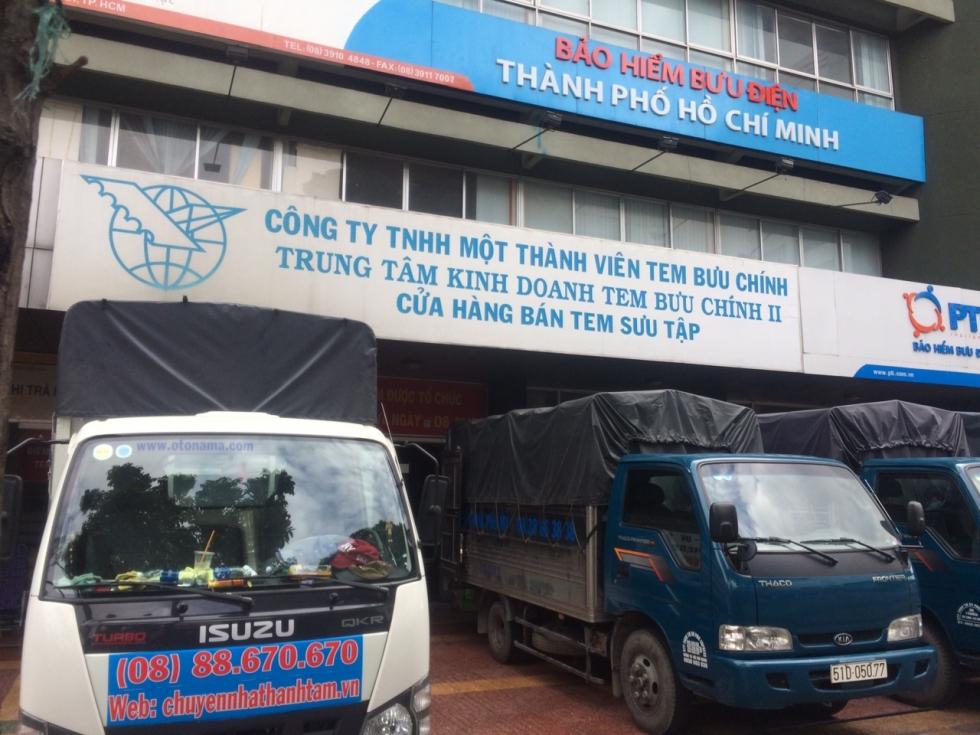 Xe tải cung cấp dịch vụ taxi tải quận 4 Thành Tâm Express