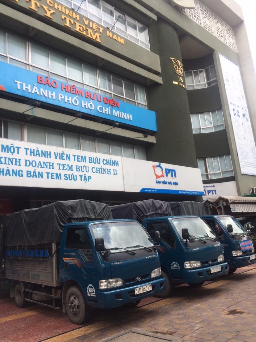Dịch vụ taxi tải chuyển nhà trọn gói giá rẻ TPHCM -  Công ty Thành Tâm Express