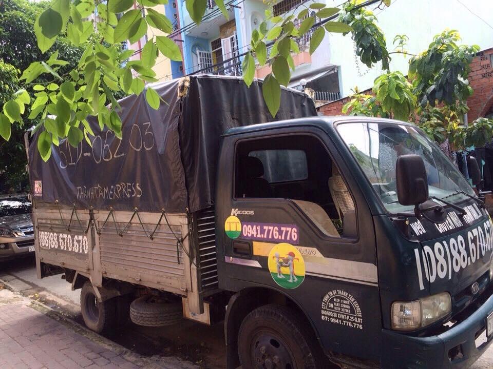 Dịch vụ taxi tải quận 4 trọn gói công ty Thành Tâm Express.