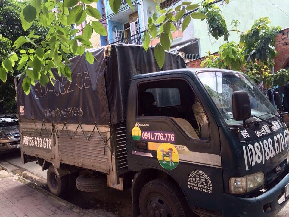 Xe tải cung cấp dịch vụ chuyển văn phòng tại Thành Tâm Express