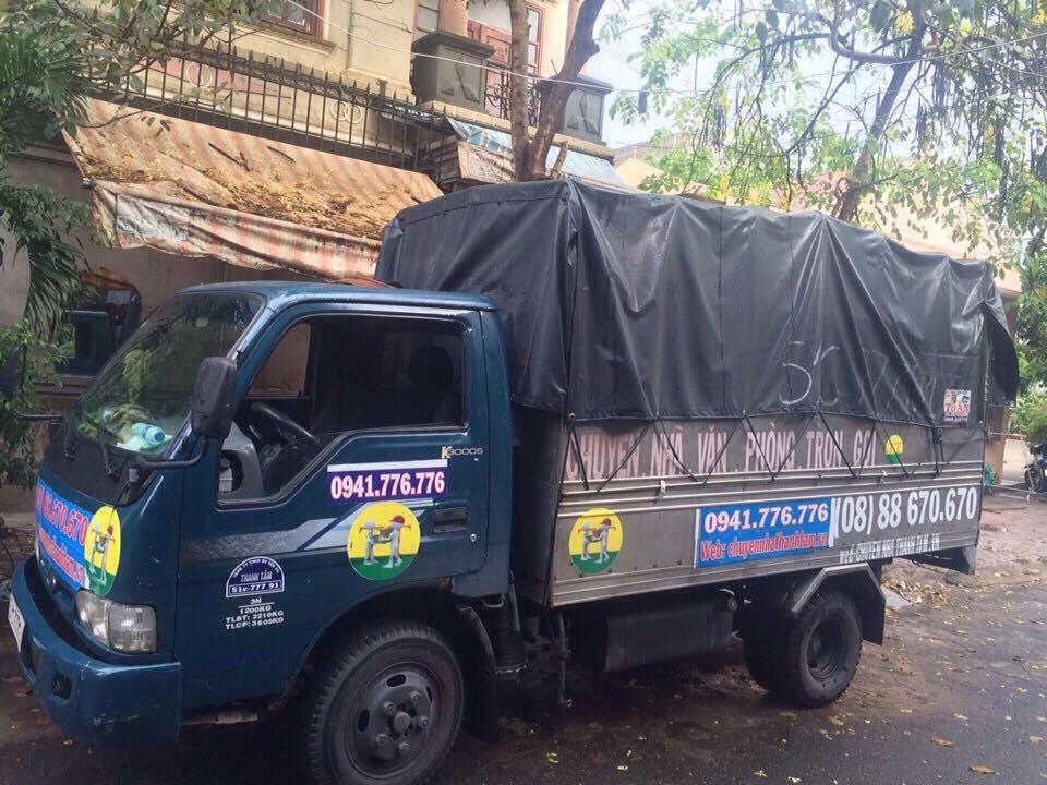 Xe tải cung cấp dịch vụ cho thuê xe taxi tải quận 4 tại Thành Tâm Express.