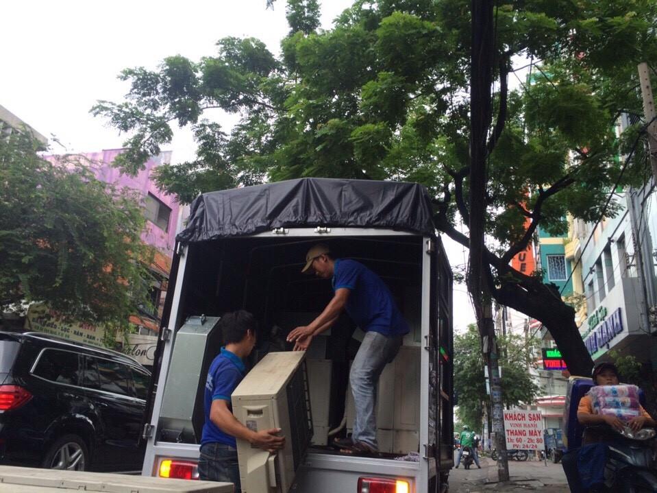 Xe tải chuyển nhà văn phòng Thành Tâm