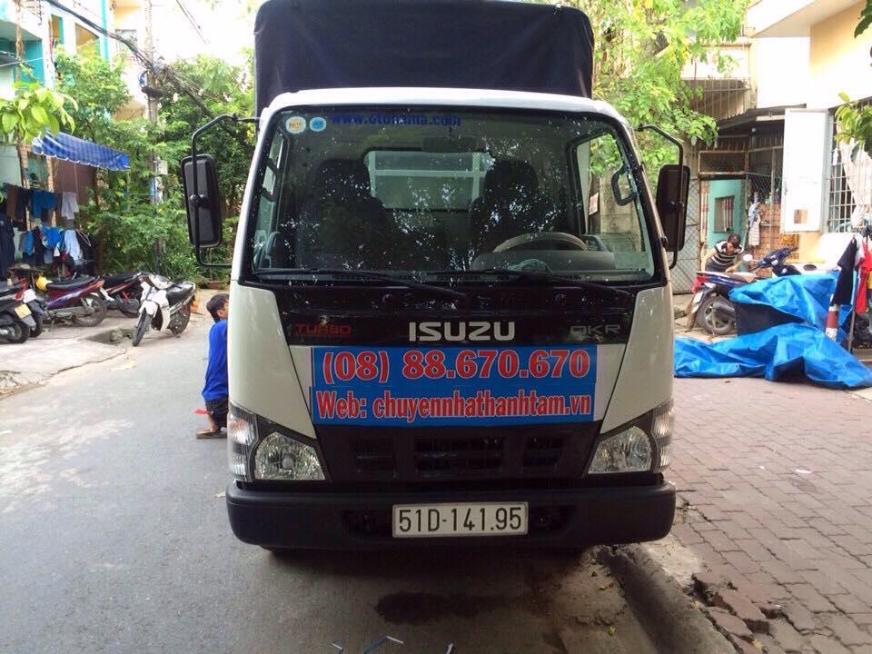 Xe taxi tải quận 4 chuyên dụng phục vụ khách hàng tại quận 4 TPHCM