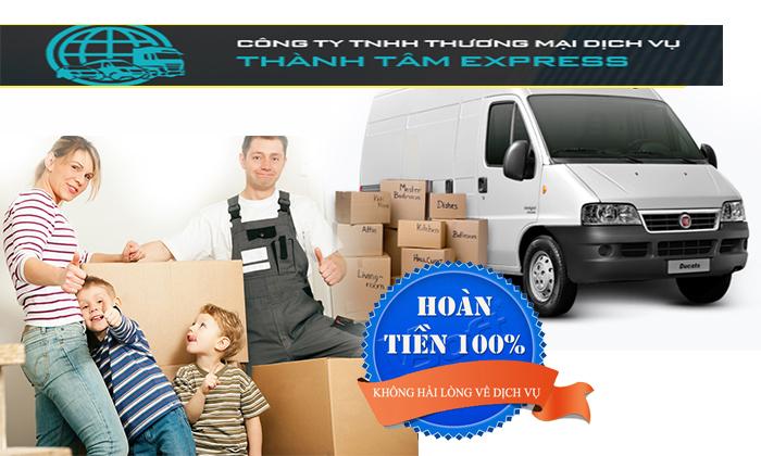 Cam kết dịch vụ chuyển nhà trọn gói quận Bình Tân công ty Thành Tâm Express