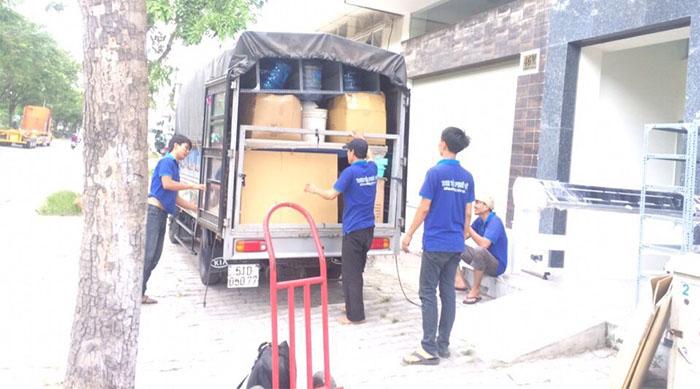 Công việc thực hiện dịch vụ chuyển nhà trọn gói tại Thành Tâm